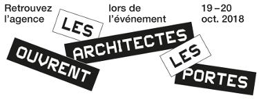 Retrouvez l'agence lors de l'évènement «Les architectes ouvrent leurs portes» : 13-14 oct. 2017