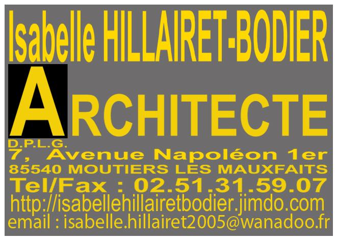 HILLAIRET-BODIER Isabelle | MOUTIERS LES MAUXFAITS - Vendée | Ordre ...