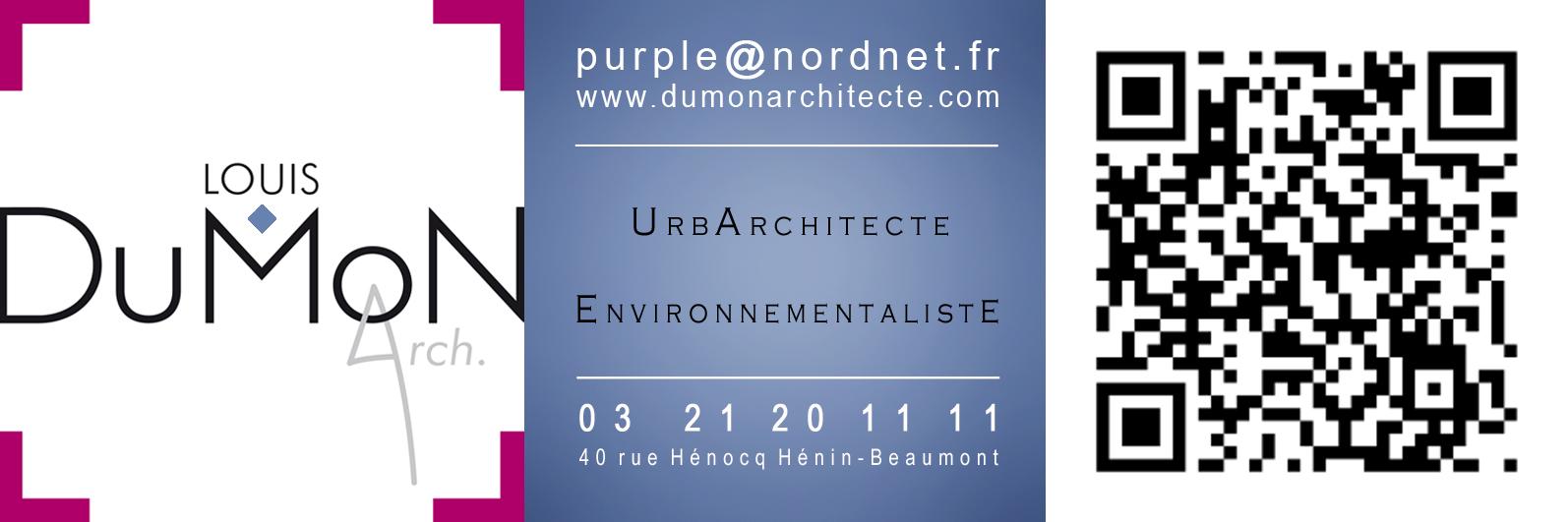 LOUIS MARIE DUMON ARCHITECTE URBANISTE