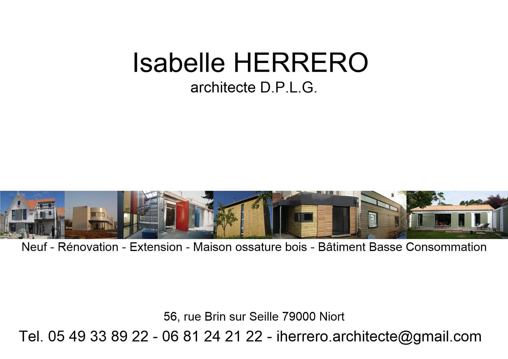 isabelle herrero ordre des architectes. Black Bedroom Furniture Sets. Home Design Ideas