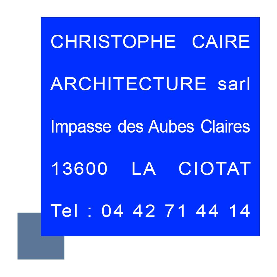 Christophe caire architecture la ciotat bouches du for Christophe theilmann architecte