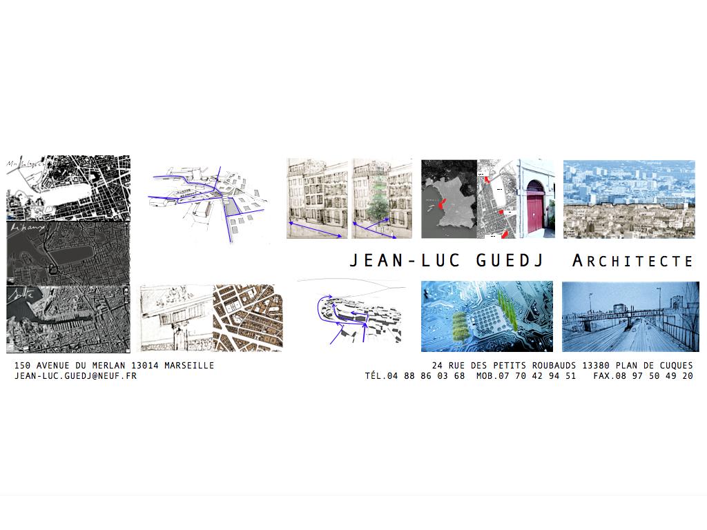 Jean luc guedj architecte ordre des architectes for Nom architecte