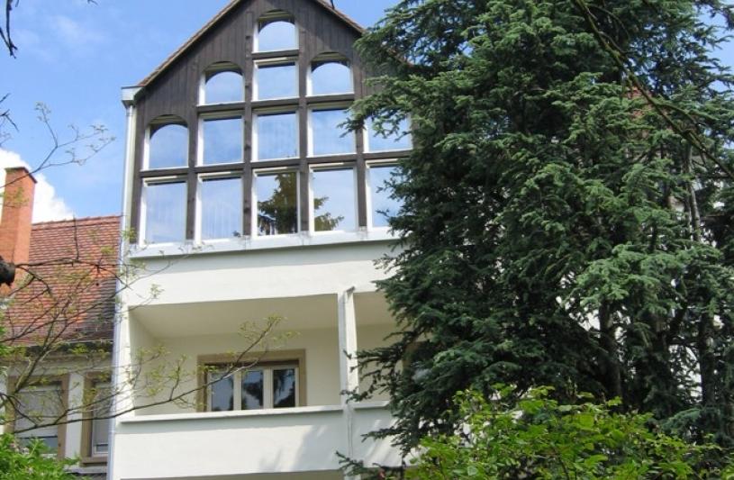 La façade après intervention