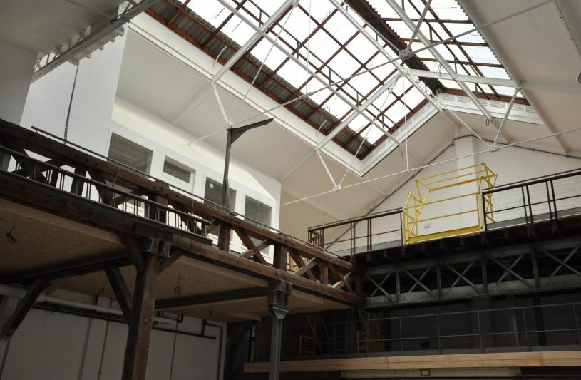 Création de showroom et stockage sur les mezzanines
