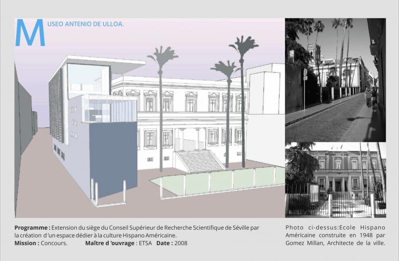 Musée Antenio de Ulloa à Séville.