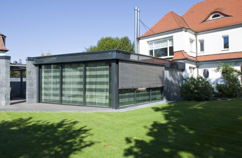 Restructuration avec une partie extension d'une villa historique à Kehl