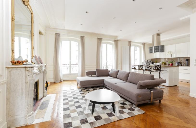 Réaménagement, rénovation d'un appartement à Paris