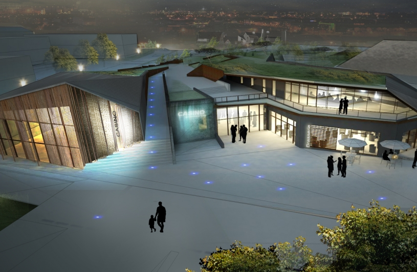 Casino de Larmor Plage - Enet Dolowy Architecture