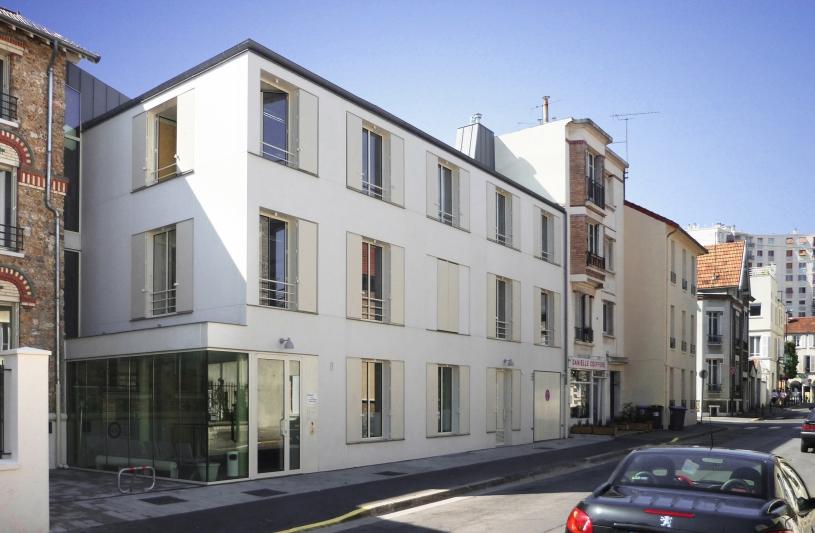 bureaux de l'AGENCE D'AIDE SOCIALE A L'ENFANCE DE PARIS - BOURG-LA-REINE  rue Ravon