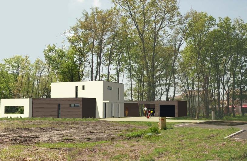 Deltour fabienne ordre des architectes for Habitation individuelle