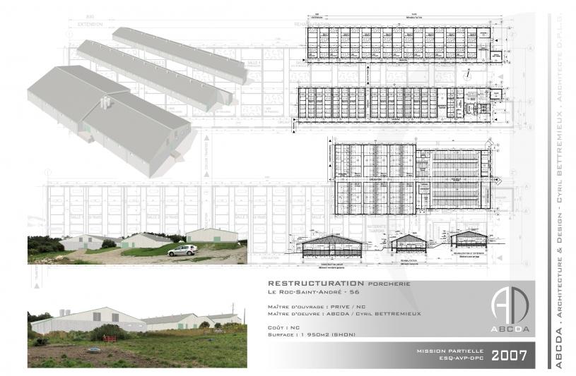 Atelier bettremieux cyril d 39 architecture locmine for Architecte batiment agricole