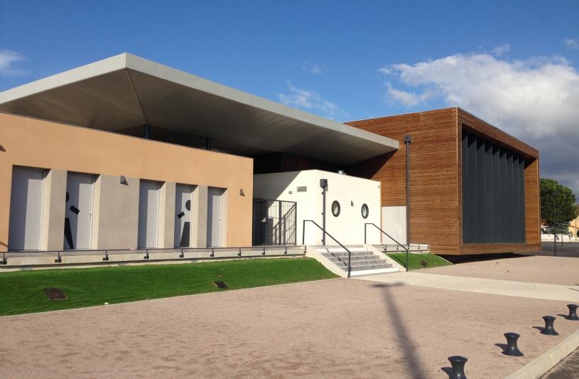 Salle des Fêtes & P.I.J - Corneilla la Rivière (66)