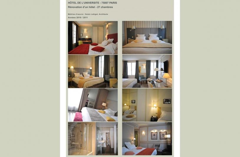 Architecte DPLG et Architecte d'Intérieur à Paris- Conception et agencement intérieur (Décoration) pour hôtels, restaurants, boutiques (Retail design), commerces et expositions.