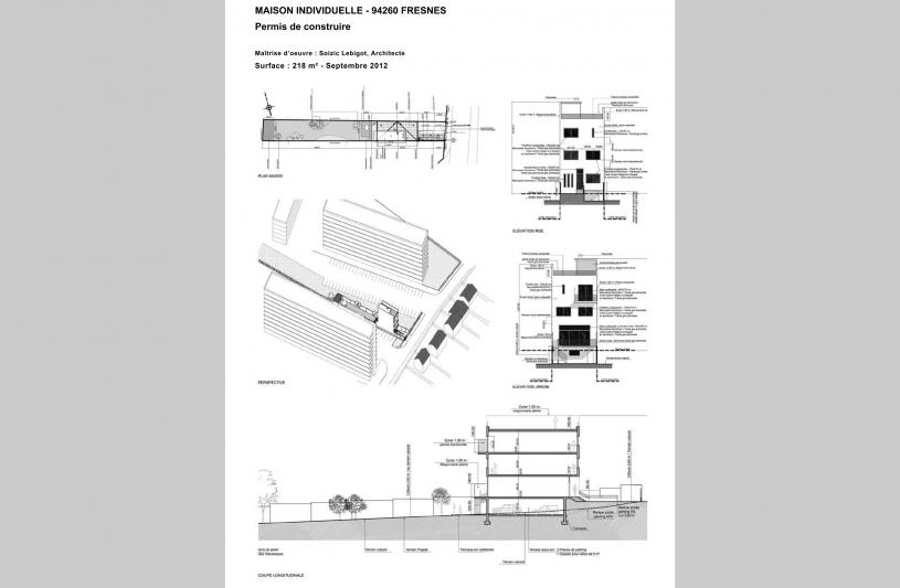 Architecte DPLG et Architecte d'Intérieur à Paris- Conception, réalisation et dépôt de dossier de Permis de Construire (ou Déclaration de travaux) pour votre projet.