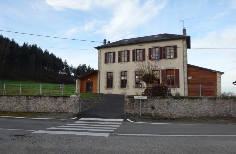 Mairie de Saint Priest Palus - accessibilité
