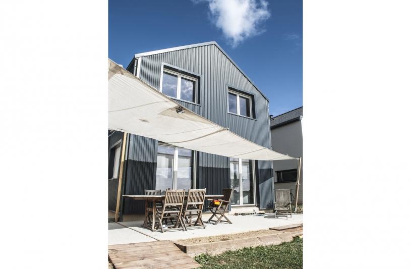 Détail d'aménagement de la terrasse