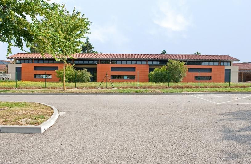 Ecole maternelle Neuville - Extension de l'école maternelle et du réfectoire - Photo Balao - XXL Atelier