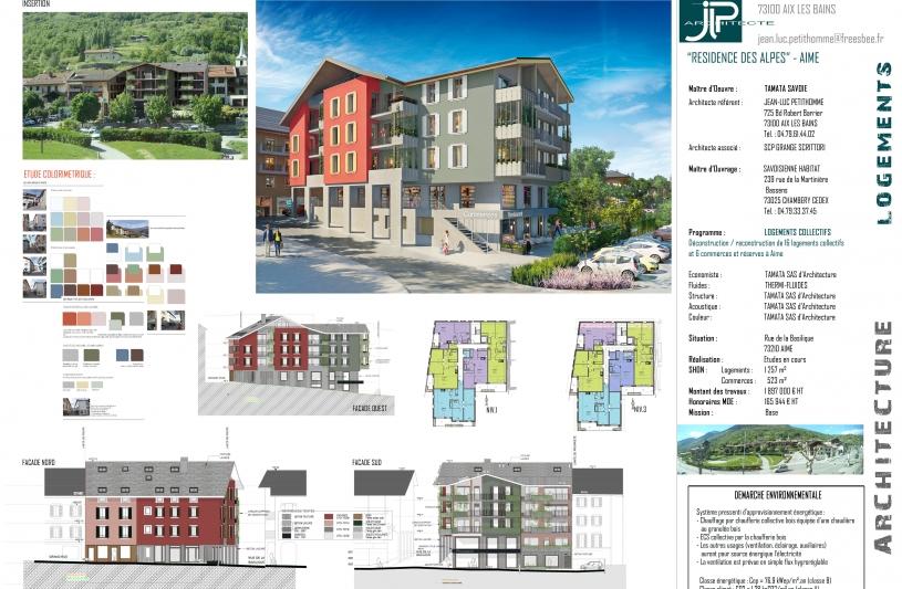 Résidence des Alpes - Aime - JLP architecte