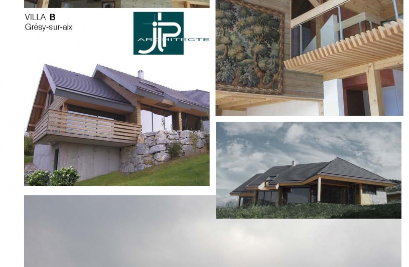 Villa B Grésy - JLP architecte
