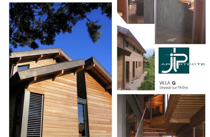 Villa G Seyssel - JLP architecte