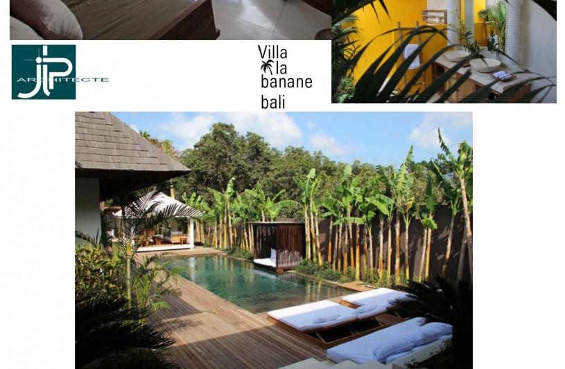 Villa La Banane Bali - JLP architecte