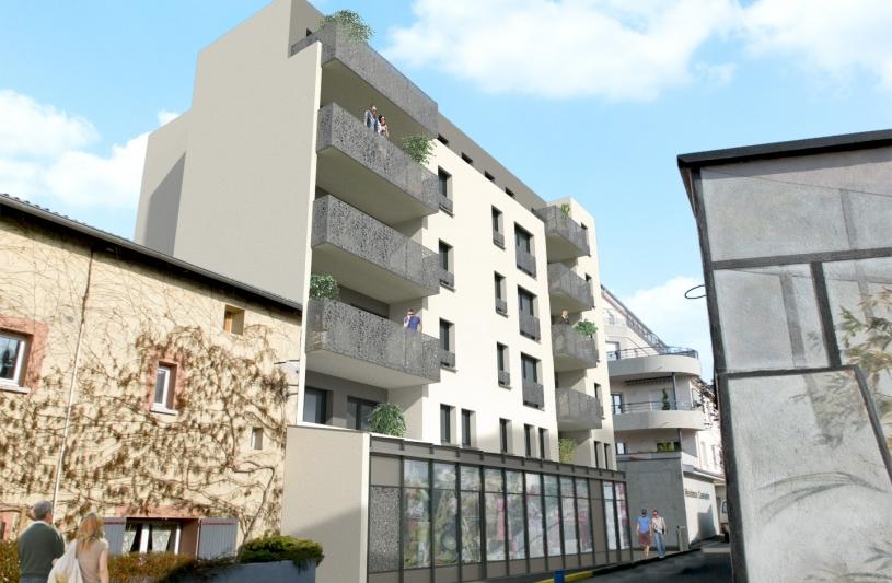 16 logements BBC et un commerce en RDC - La Talaudière - XXL atelier