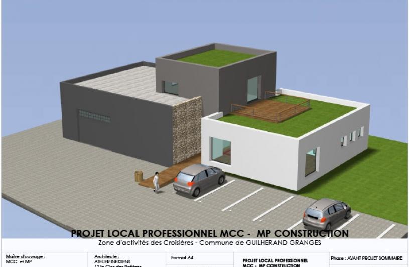 MCC bâtiment à Guilherand granges