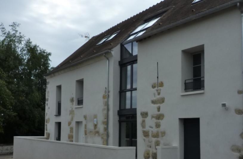 EPIAIS-RHUS - Réhabilitation d'une ancienne grange et création de 4 logements locatifs aidés (PLA-I)