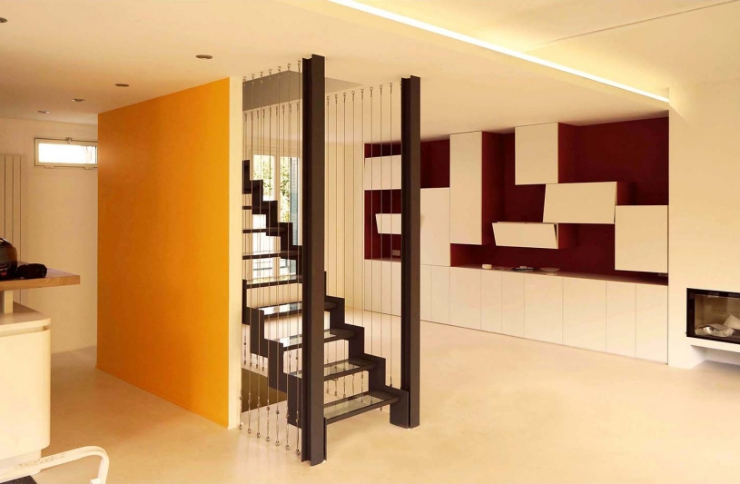 Bibliothèque design tetris