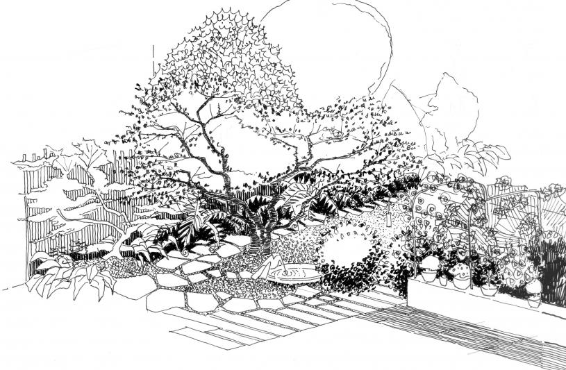 jardin citadin LYON 69003