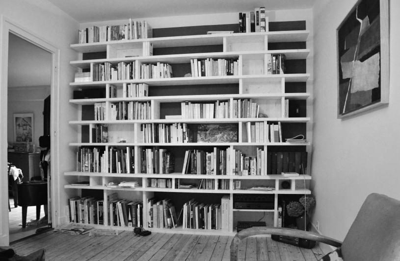 meuble bibliothèque bois 69