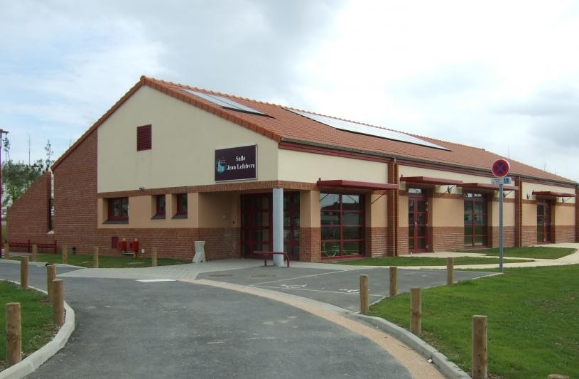 Salle polyvalente HQE à MARQUETTE EN OSTREVANT