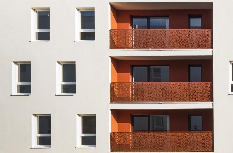 70 logements BBC en conception-réalisation, à Fleury Merogis (91)