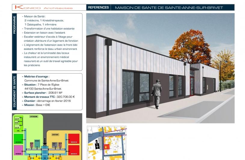 maison de santé Sainte-Anne-Sur-brivet - page 01