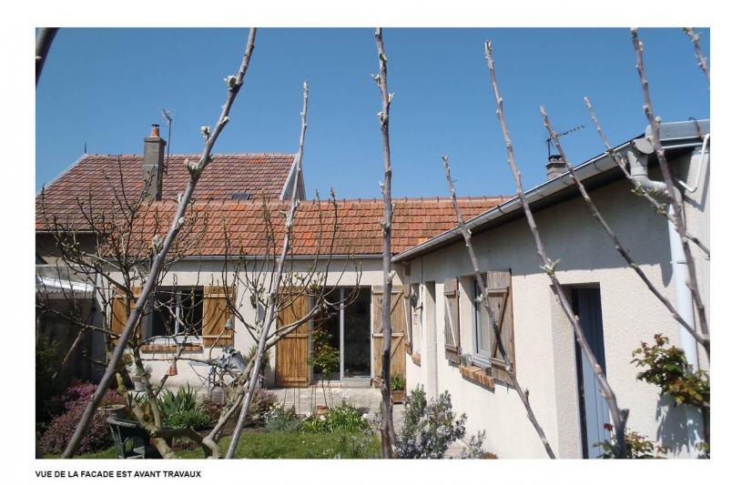 Photo de la maison existante avant travaux