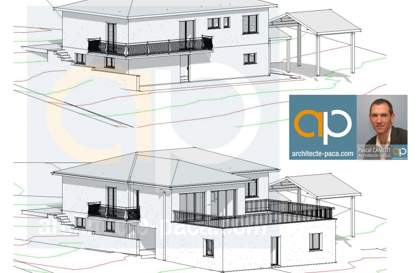 Extension de maison - Pascal CAMLITI Architecte -  Commune PIBRAC (31)