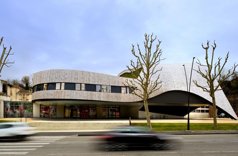 Vue extérieure de la Cité de la Musique © Studio Erick Saillet