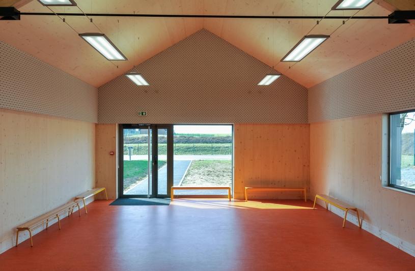 Offrir au groupe scolaire une salle supplémentaire permettant l'accueil des activités de loisirs périscolaires.