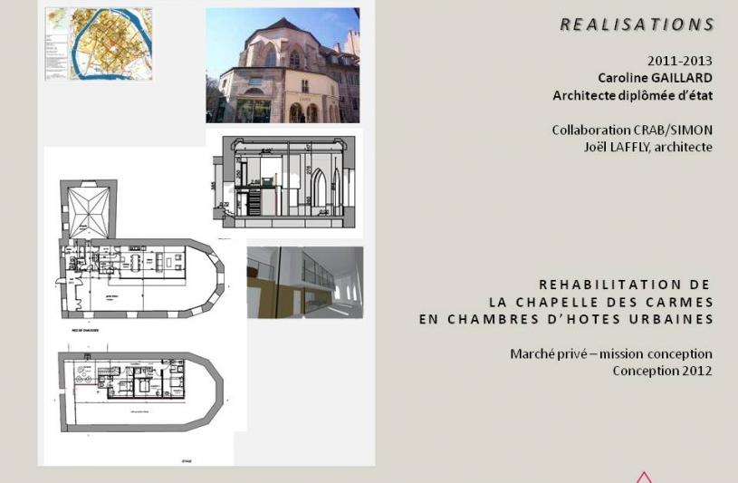 mission permis de construire/J. Laffly architecte