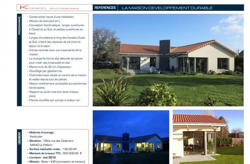 Maison développement durable - page 01