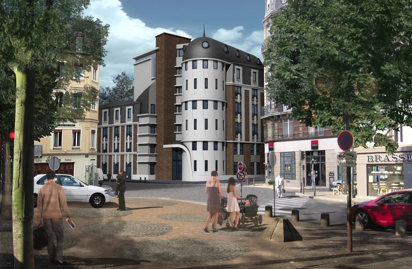 jerome duclos atelier d 39 architecture rouen seine maritime ordre des architectes. Black Bedroom Furniture Sets. Home Design Ideas