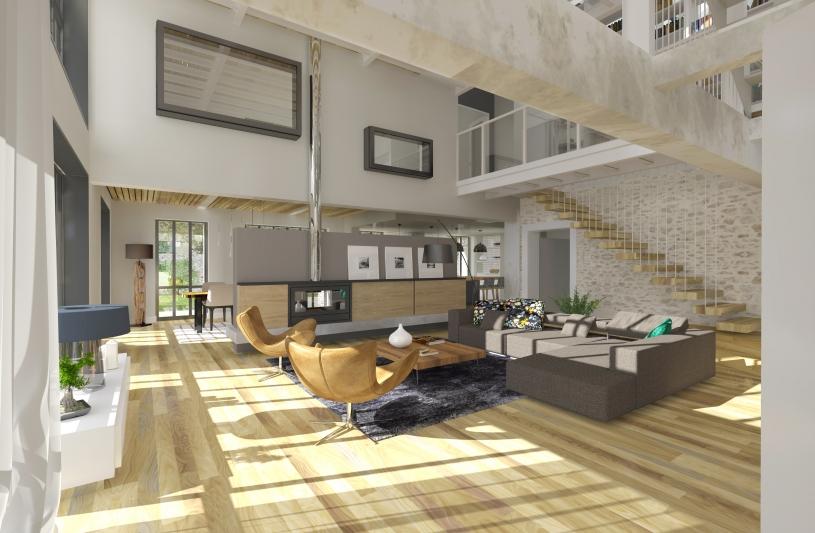 Atelier 14 ordre des architectes - Amenagement d un loft ...