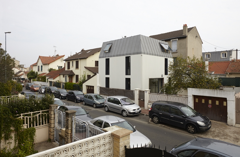 Maison C_Vue depuis la rue