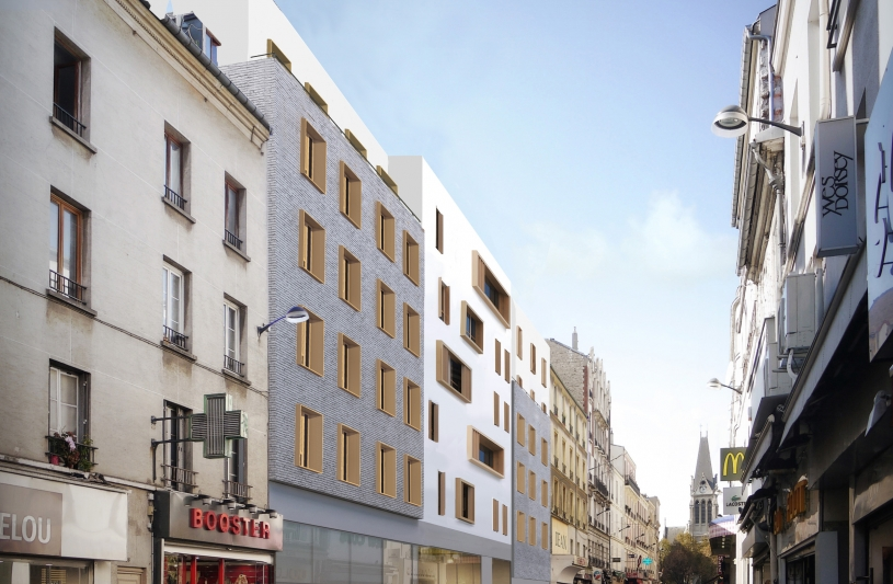 25 LOGEMENTS COLLECTIFS, COMMERCE, PARKING SAINT-DENIS IMMOBILIERE 3F