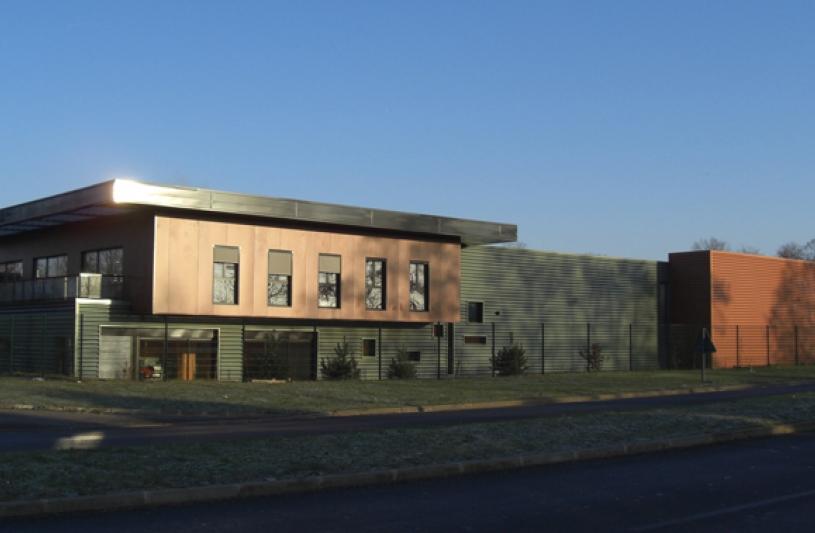 Bureaux et Ateliers, Façade principale