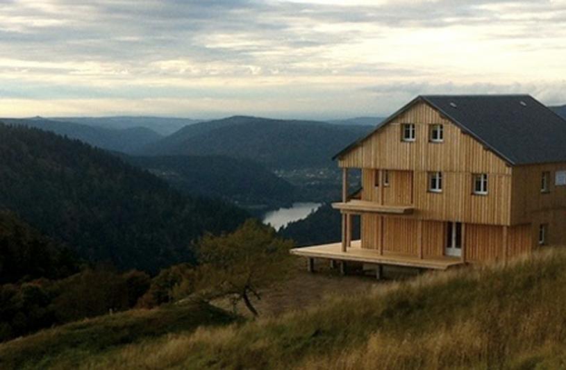 Extension en ossature bois du refuge du Sotré, 1100m2