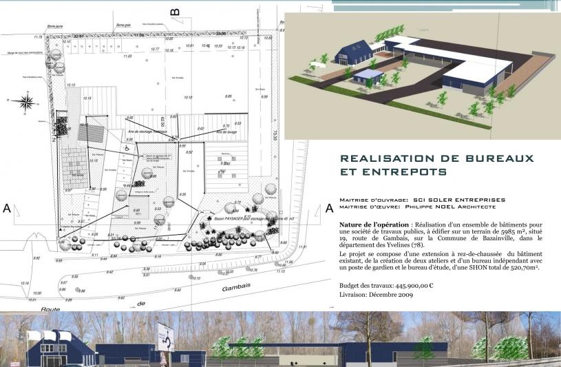Architecte, Bazainville, Entrepôt