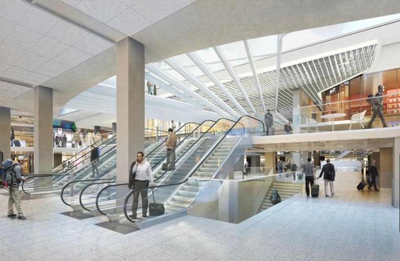 Modernisation de la Gare Montparnasse par SLA Architecture