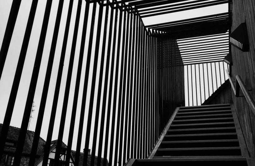 Escalier d'accès Salle de réunion de Hôtel Régent Petite France