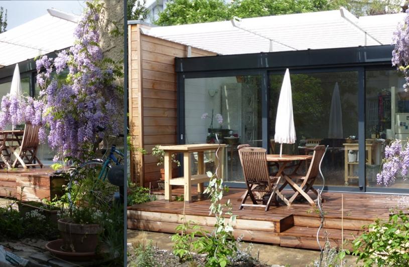 Studio on architectes olivier noell ordre des architectes for Maison de ville grenoble